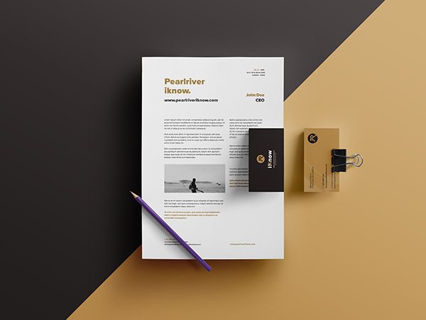Pearl River iKnow | Branding